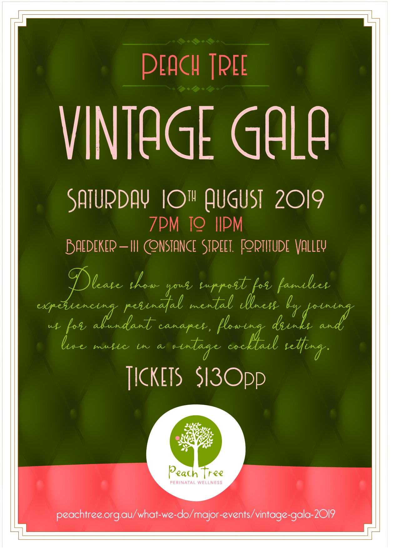 Vintage Gala 2019 | Peach Tree